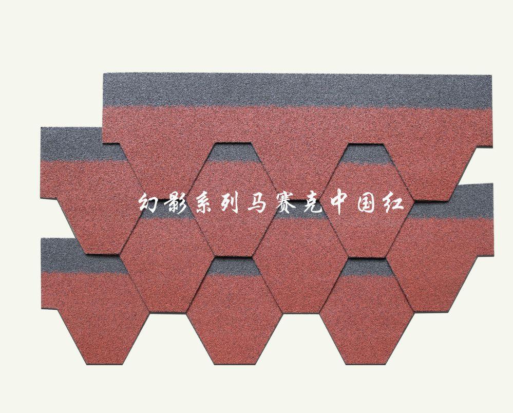 泽皓高端红色沥青瓦颜色彩砂搭配深度解析