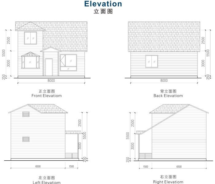 建筑,建材 行业新闻 轻钢别墅玻纤沥青瓦屋面系统的优点   轻钢结构